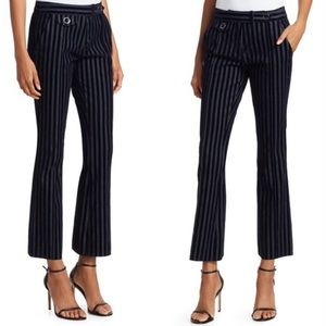 Derek lam 10 Crosby stripe flare pants